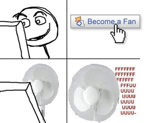 fan, funny, and fu image