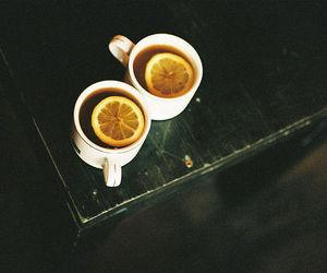 tea, lemon, and cup image