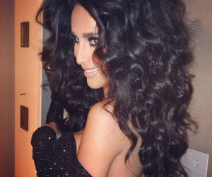 hair, lilly ghalichi, and lillyghalichi image