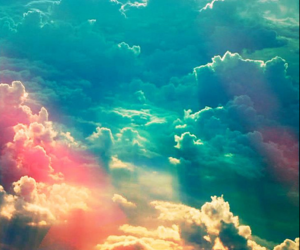 :), clouds, and cross image
