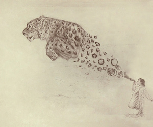 art, drawing, and bubbles image