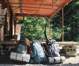 travel and backpack image
