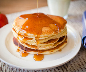 breakfast, buttermilk, and pancakes image