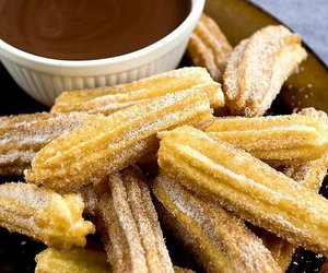 chocolate, food, and churros image