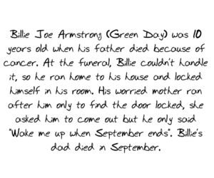 green day, billie joe, and cancer image