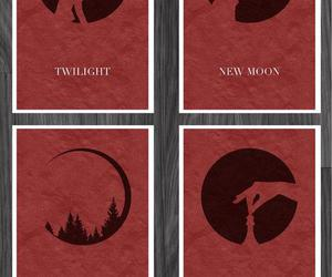 breaking dawn, eclipse, and new moon image