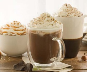 cappuccino, caramel, and chocolate image