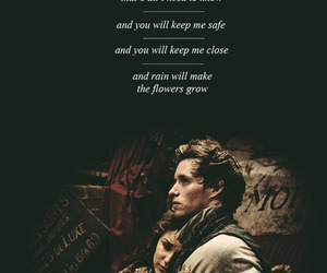 cosette, flowers, and eponine image