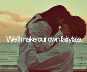 love, fairytale, and couple image