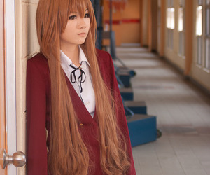 cosplay, hair, and Taiga image