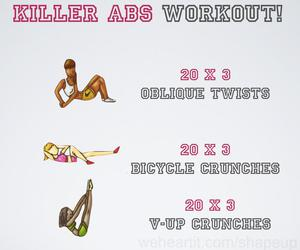 abs, fit, and sixpack image