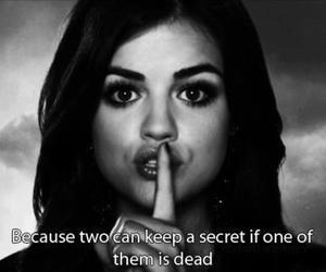 pretty little liars, secret, and aria image