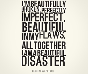 beautiful disaster, book, and quote image