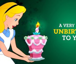 alice, disney, and unbirthday image