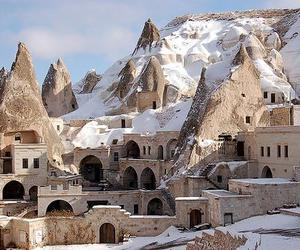 turkey, cappadocia, and goreme image