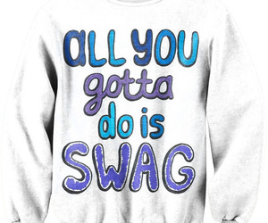 swag, sweater, and freshtops image