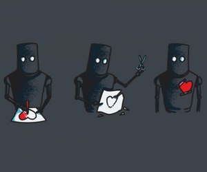 heart and robot image