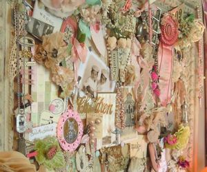 vintage, pink, and pretty image