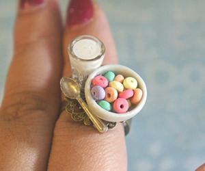 ring, cereal, and breakfast image
