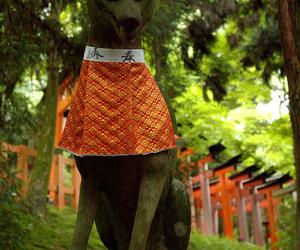 inari okami, Инари, and японская богиня image