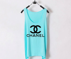 chanel, fashion, and blue image