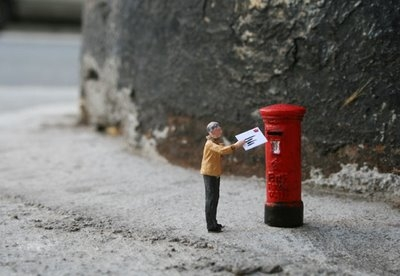 little people, photography, and postbox image