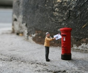 postbox, little people, and photography image