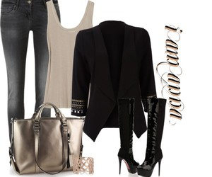 blazer, casual, and combinations image