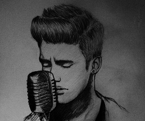 justin bieber and drawing image