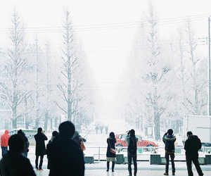 asia, asian, and snow image