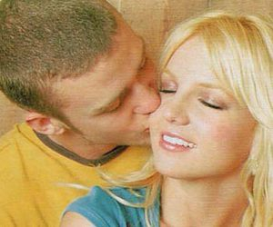 britney, justin, and britney spears image