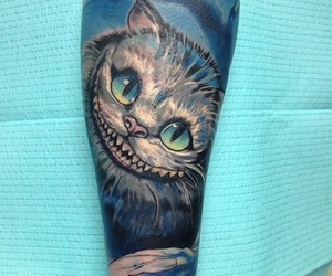cat, tattoo, and tattooed image