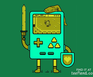 awsome, Legend of Zelda, and bmo image