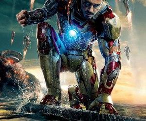 iron man, Marvel, and iron man 3 image