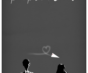 paperman, disney, and love image