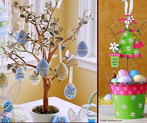 easter trees image