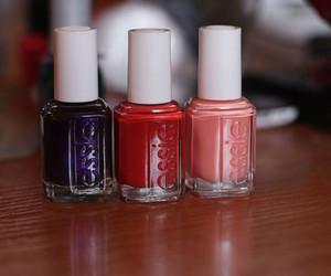 color, red, and nail polish image