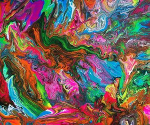 abstract, art, and psychedelic image