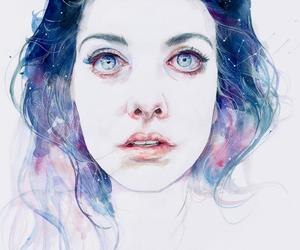 arts, blue, and cool image