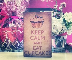 adorable, beauty, and cupcake image