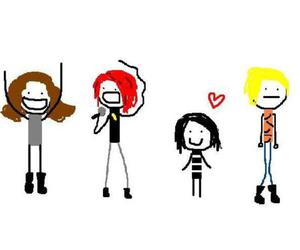 draw, my chemical romance, and cute image