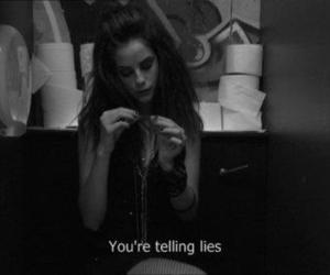 lies, skin, and Effy image