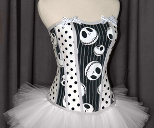 bows, corset, and fashion image