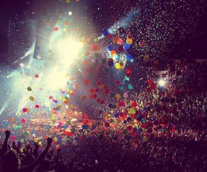 party, balloons, and concert image