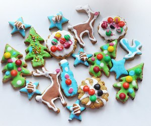bright, christmas, and Cookies image
