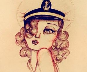 illustration, sweet, and nautical image