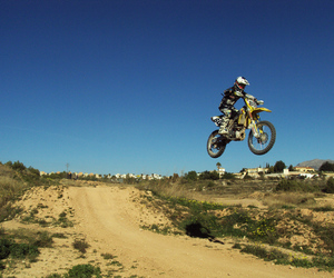 jump, motocross, and offroad image