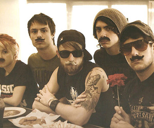 paramore, mustache, and hayley williams image