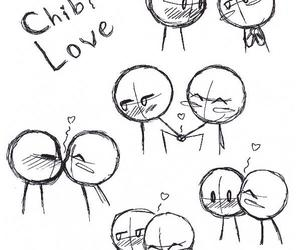 love, chibi, and cute image