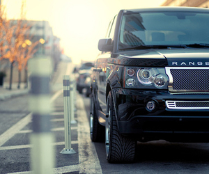 range rover, car, and black image